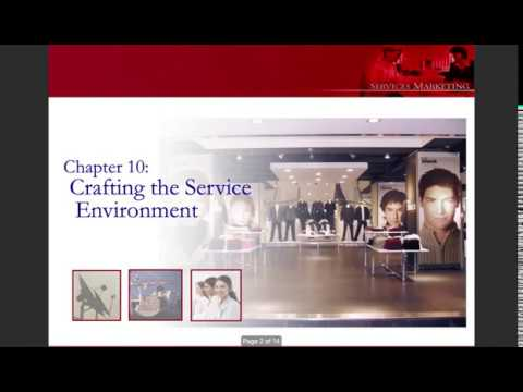 Crafting the Service Environment
