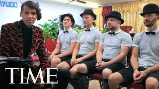 Stromae Sings 'Tous Les Mêmes' Live Acapella, Takes On America | TIME