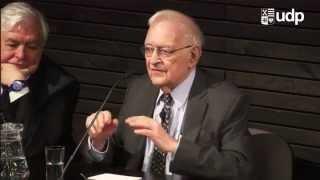 """Cátedra """"La declinación del poder económico de EE. UU."""" con Immanuel Wallerstein"""