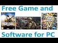 FREE Games And Software Download In Full Version For Pc. || YouTube SEO NWT