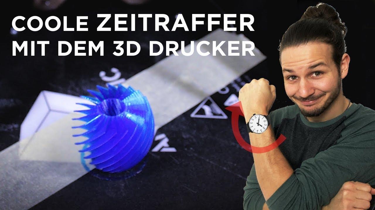 Wir erstellen coole Zeitraffer Aufnahmen mit dem 3D