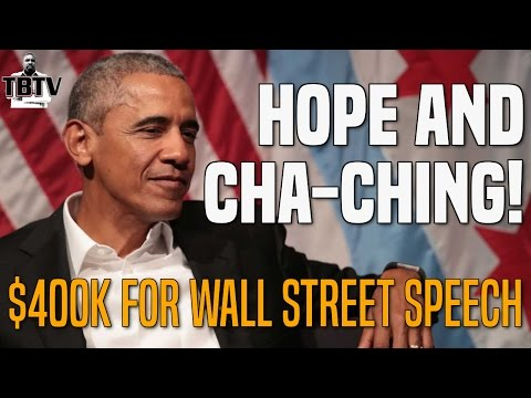Barack Obama To Get Paid $400K For Wall Street Speech, Also Wants Money Out Of Politics