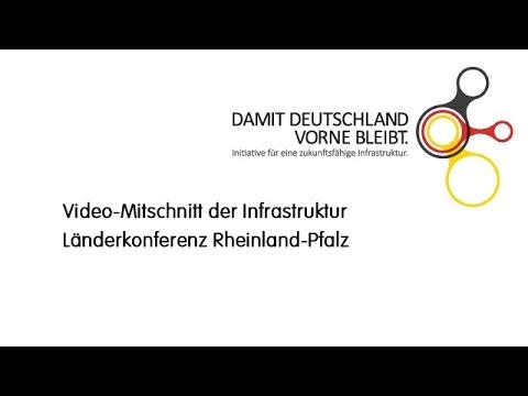 Infrastrukturkonferenz der Länder - Mitschnitt des Livestreams
