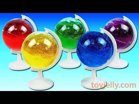 Thumbnail: How To Make Color Glitter Ball Galaxy Slime DIY Learn Colors Foam Clay Ice Cream Waffle Surprise Toy