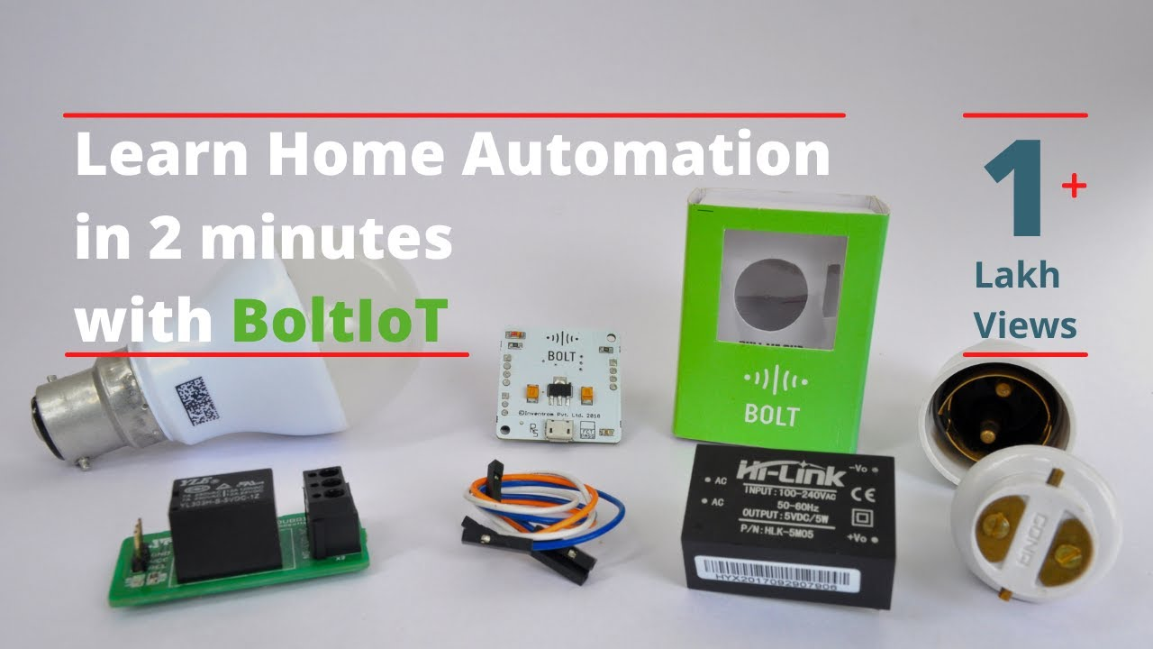 2 Min IOT Projects : Home Automation