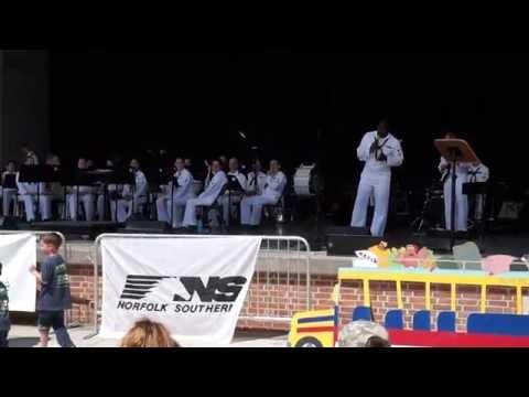 "U.S. Fleet Forces Band   ""O Sole Mio"""