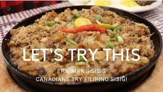 Let's Try This (Sisig)! Winnipegers Try Filipino Sisig