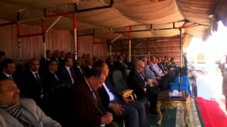 وزير التعليم العالى ورؤساء الجامعات فى قناة السويس الجديدة