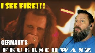 FEUERSCHWANZ - I See Fire ft Angus McFife (Live) OldSkuleNerd Reaction