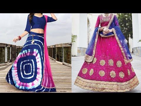 Circular Lehenga Choli Designs 2019