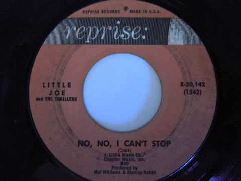 Little Joe and The Thrillers- No, No, I Can't Stop