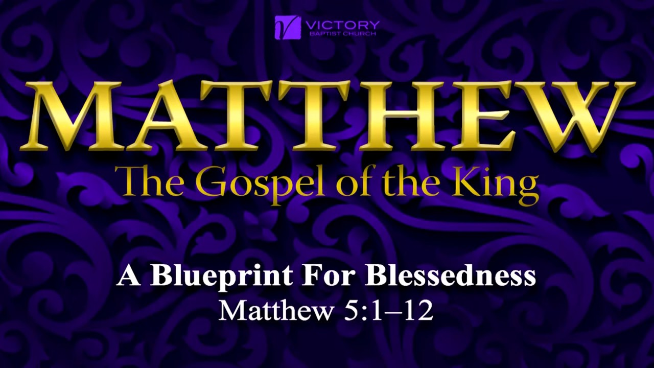 18 blueprint for blessedness youtube 18 blueprint for blessedness malvernweather Choice Image