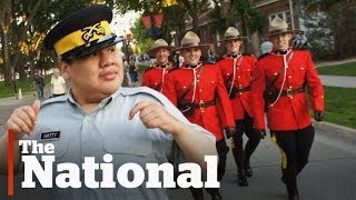 RCMP Make Man with Autism an Honourary Cadet