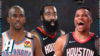 Oklahoma City Thunder vs Houston Rockets - Full Game 7 Highlights | September 2, 2020 NBA Playoffs