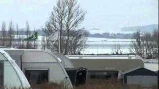 Vinterstemning på Holbæk Fjord Camping & Wellness