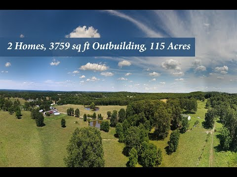 Drone Video of Farm for Sale at 8386 County Road 3680 Mountain View, MO 65548