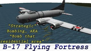 KSP Boeing B-17 Flying Fortress, Real plane, Firespitter BDArmory