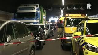 Eerste Beelden Van Het Ongeval In De Heinenoordtunnel - Video Duivestein