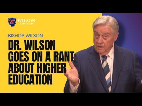 Dr. Nathaniel J. Wilson Rant on Higher education Part 2