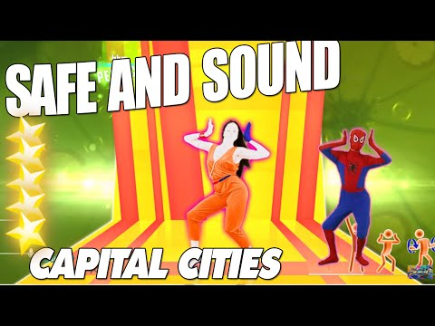 Safe And Sound - Capital Cities[Just Dance 2014] - Spiderman Dance Just Dance Real Dancer
