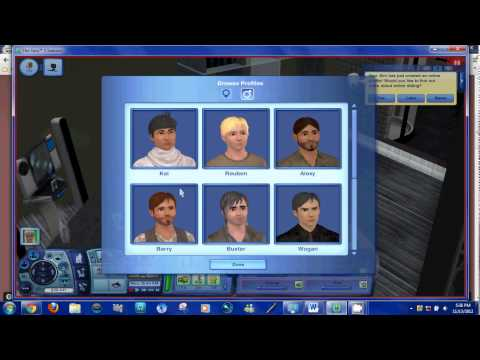 THE SIMS 3 - ONLINE DATING! - EP 17 (FACECAM) from YouTube · Duration:  17 minutes 45 seconds