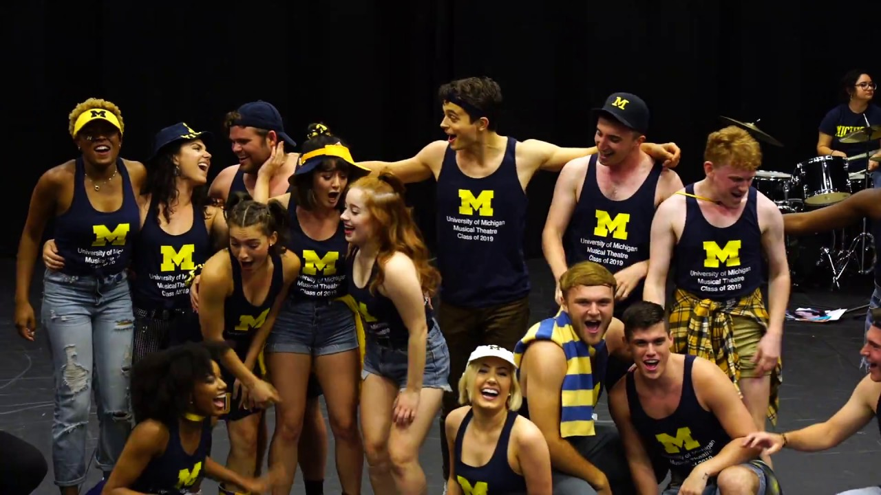 Senior Entrance - MT19 - University of Michigan Musical Theatre