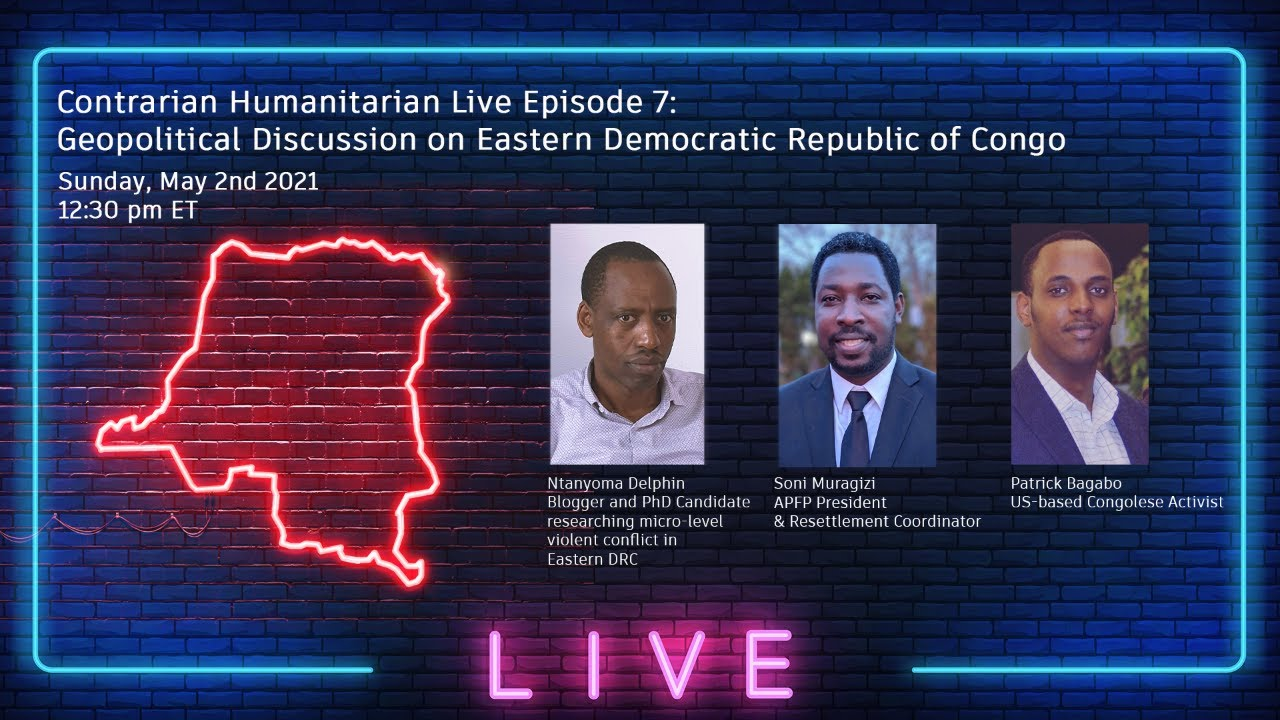 CH Live 07: Geopolitical Discussion on Eastern DRC