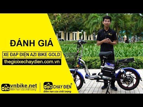 Đánh giá xe đạp điện Azi Bike Gold