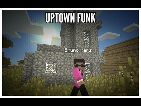 Uptown Funk Minecraft - Mark Ronson Ft Bruno Mars