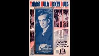 Yaaka Hula Hickey Dula (Medley Fox Trot) -- Victor Military Band (1916)