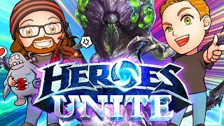 Heroes Unite w/ Abathur | MFPallytime & Mewnfare | Heroes of the Storm Gameplay | Abathur Combos