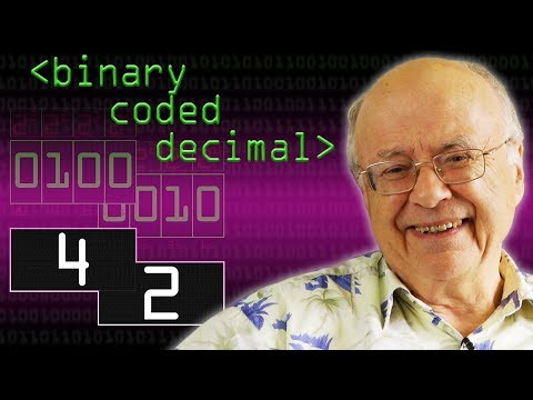 Binary Coded Decimal (BCD) & Douglas Adams' 42 - Computerphile