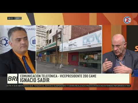 Sobremesa 27-03-20| Ignacio Sadir - Vicepresidente 2do. CAME
