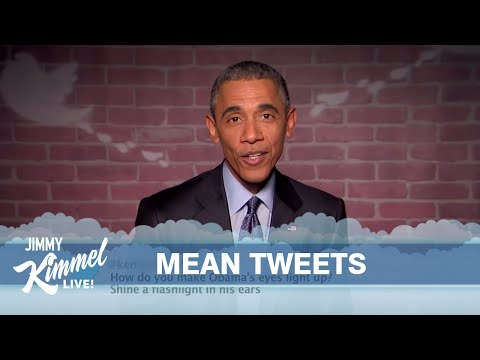 80th Level Of Self-Control: President Obama Reads Tweets About Himself