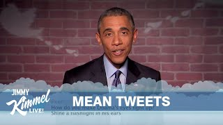 Mean Tweets - President Obama Edition(From time to time, we give celebrities a chance to read some of the mean things people tweet about them. We extended that same offer to our Commander in ..., 2015-03-13T03:46:10.000Z)