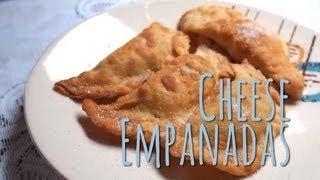 Ecuadorian Food - How to Make Empanadas de Queso
