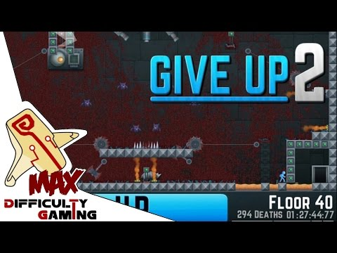 Give up 2 100% Walkthrough Let's Play ALL Floors 1 - 40 Part 1/2