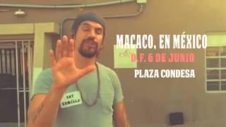 """Macaco anuncia la presentación de """"Historias Tattooadas"""" en DF"""