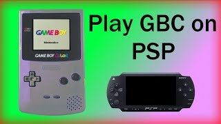 Playing Gameboy Games on PSP