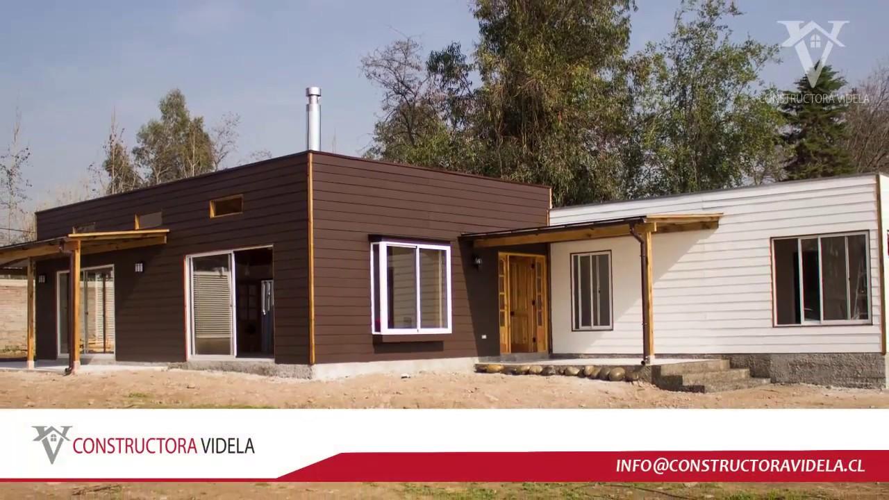 Constructora videla casa llaves en mano 1 youtube for Casas prefabricadas americanas llave en mano