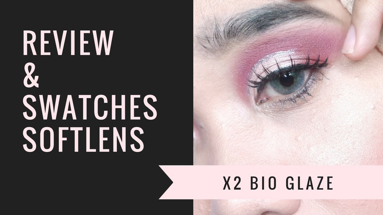 Softlens X2 Bio Glaze Review dan Swatches 4 Warna - YouTube 06ac9fa76b