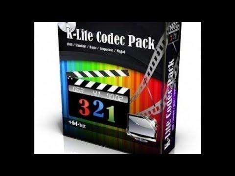 Descarga K-Lite Codec Pack 2018 Gratis (Mediafire)