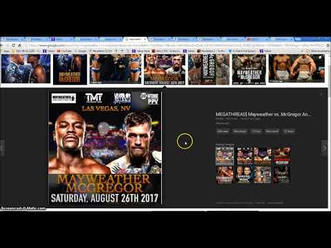 Hurricane Harvey Mayweather V McGregor Rev 12 Rev 13 Beasts