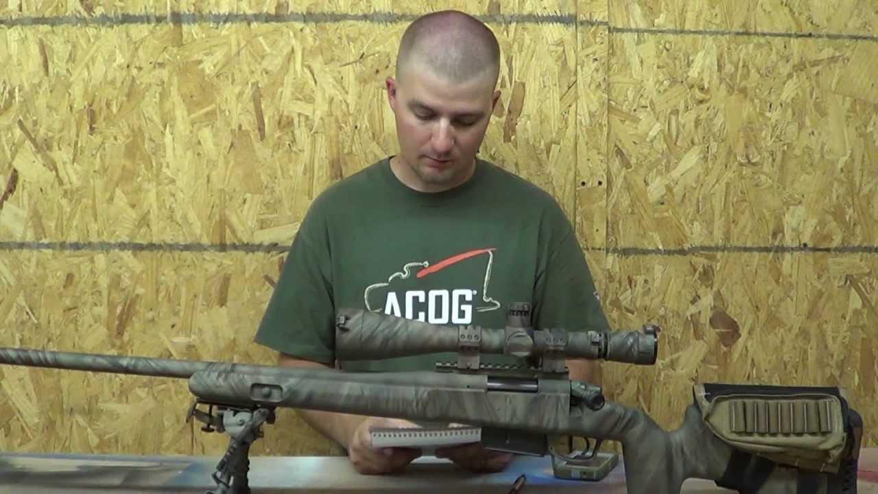 1,000 yard Remington 700 SPS varmint  308