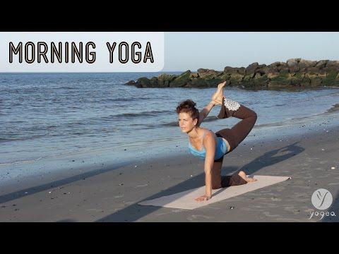 Morning Yoga Routine: Blush Of Dawn (open level)