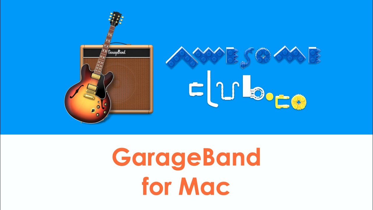 GarageBand for Mac tutorial to record music for school projects!