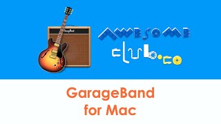 GarageBand for Mac (inc.chapter time stamps) Record music for your school projects or just have fun!