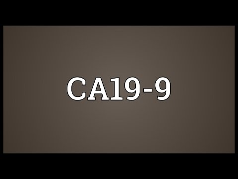 CA19-9 Meaning