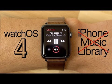 Say goodbye to browsing your iPhone music library on watchOS 4