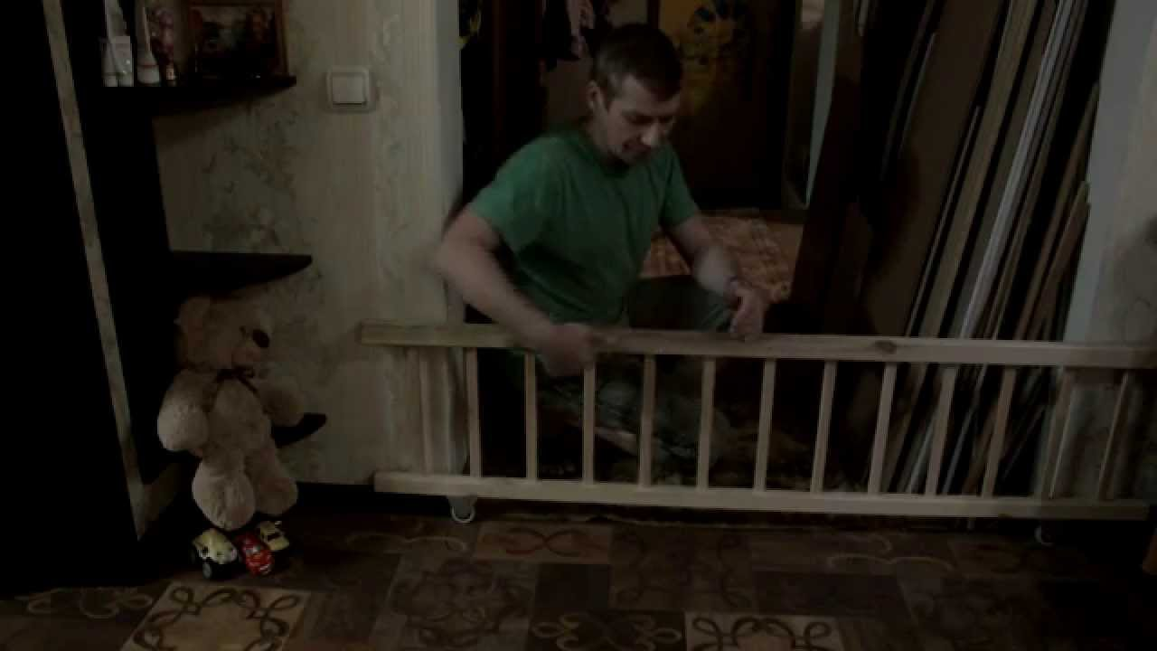 Перегородка на лестницу своими руками
